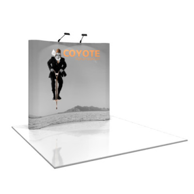 Coyote Pop Up Displays Curved