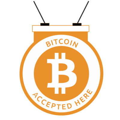 bitcoin_accepted_here_Round_Hanger_Orange